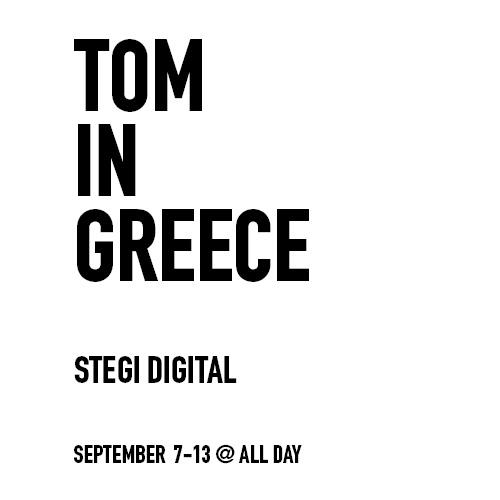 Tom in Greece