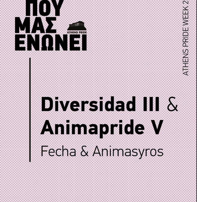 Diversidad III & Animapride V